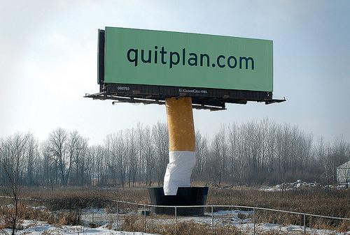 letreros fumadores