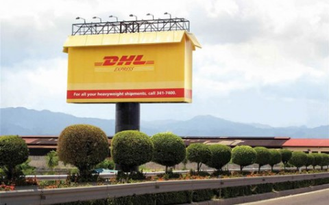 dhl cartel espectacular
