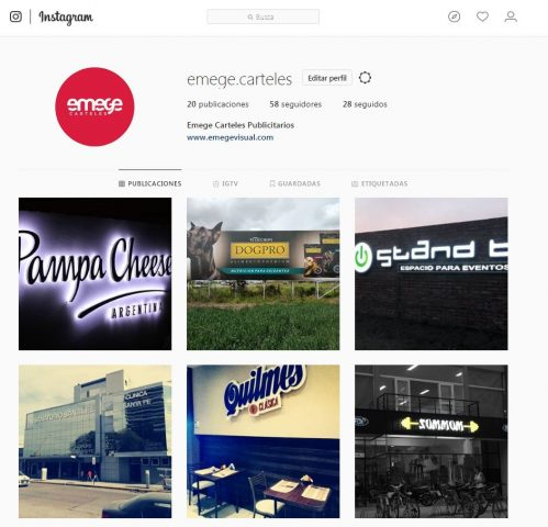 Emege Instagram